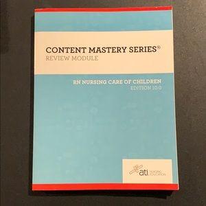 RN ATI Pediatrics Workbook